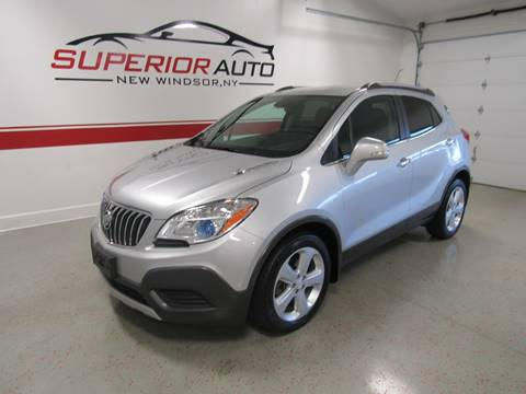 2016 Buick Encore for sale at Superior Auto Sales in New Windsor NY