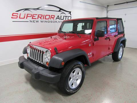 2007 Jeep Wrangler Unlimited for sale in New Windsor, NY
