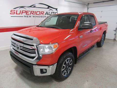 2016 Toyota Tundra for sale at Superior Auto Sales in New Windsor NY