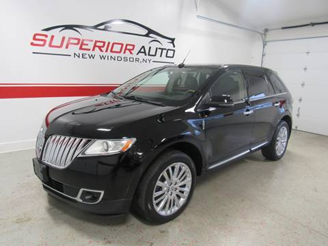 2012 Lincoln MKX for sale at Superior Auto Sales in New Windsor NY