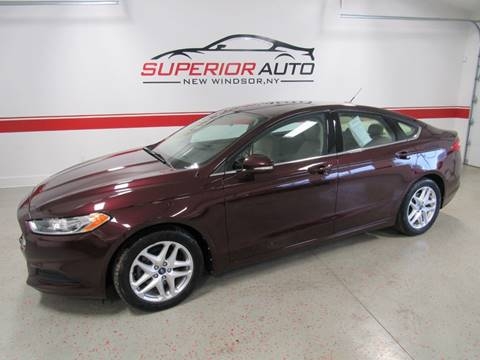 2013 Ford Fusion for sale at Superior Auto Sales in New Windsor NY