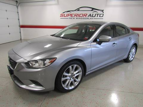 2015 Mazda MAZDA6 for sale at Superior Auto Sales in New Windsor NY