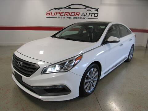 2016 Hyundai Sonata for sale at Superior Auto Sales in New Windsor NY
