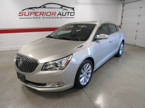 2016 Buick LaCrosse for sale at Superior Auto Sales in New Windsor NY
