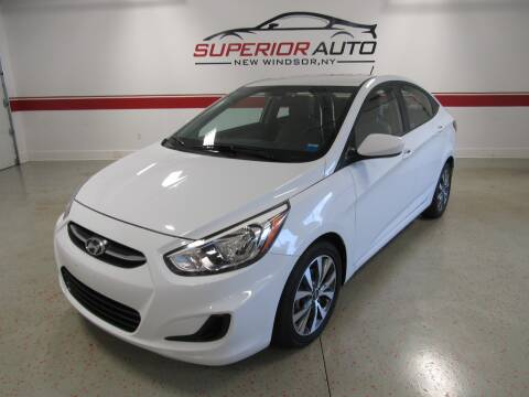 2017 Hyundai Accent for sale at Superior Auto Sales in New Windsor NY