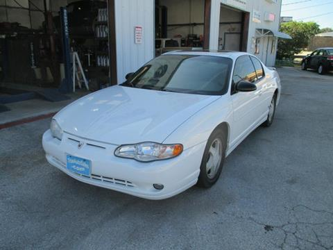 2000 Chevrolet Monte Carlo for sale in Cedar Park, TX