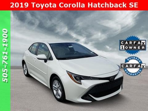 2019 Toyota Corolla Hatchback for sale in Albuquerque, NM