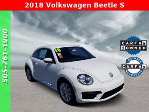 2018 Volkswagen Beetle for sale in Albuquerque, NM