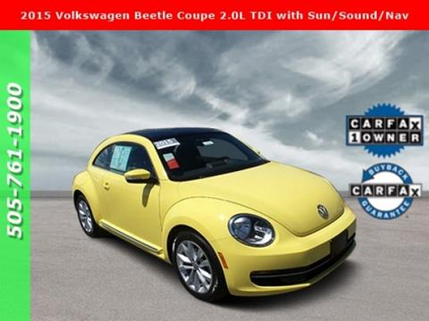 2015 Volkswagen Beetle for sale in Albuquerque, NM