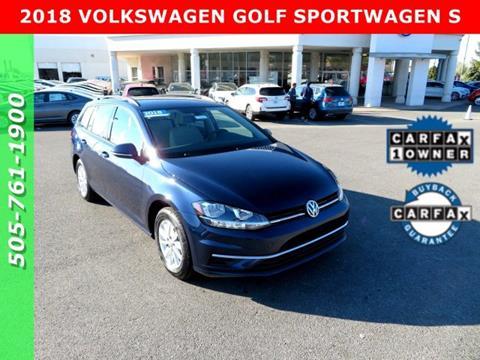 2018 Volkswagen Golf SportWagen for sale in Albuquerque, NM