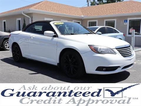 2013 Chrysler 200 Convertible for sale in Plant City, FL