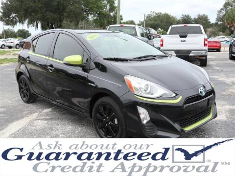 2016 Toyota Prius c for sale at Universal Auto Sales in Plant City FL