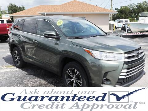 2019 Toyota Highlander for sale at Universal Auto Sales in Plant City FL