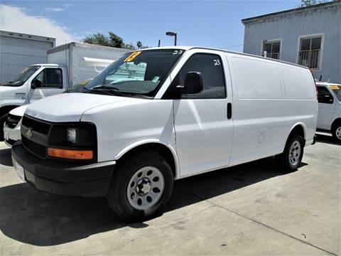 2013 Chevrolet Express Passenger for sale in Pomona, CA