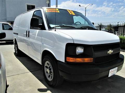 2013 Chevrolet Express Passenger for sale in Pomona, CA