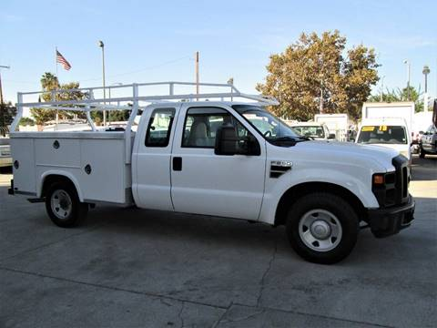 2008 Ford F-250 for sale at DOYONDA AUTO SALES in Pomona CA