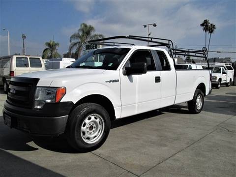 2014 Ford F-150 for sale at DOYONDA AUTO SALES in Pomona CA