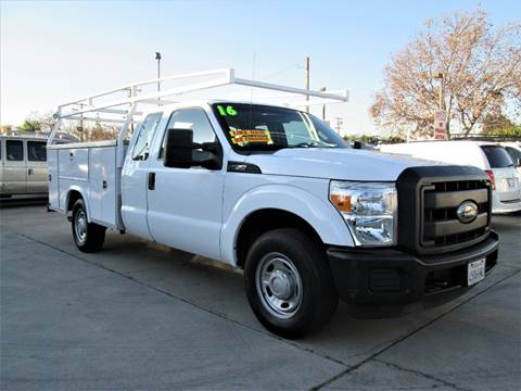 2016 Ford F-250 for sale at DOYONDA AUTO SALES in Pomona CA