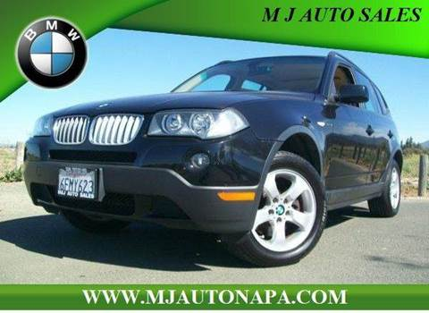 2008 BMW X3 for sale in Napa, CA