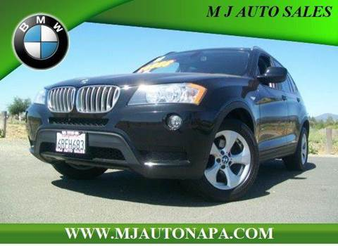 2011 BMW X3 for sale in Napa, CA