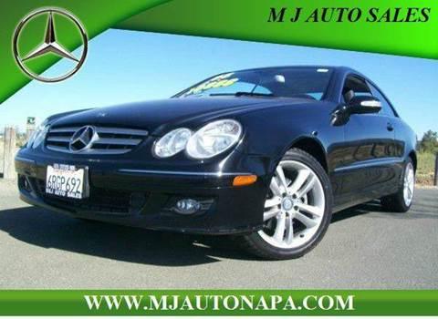 2008 Mercedes-Benz CLK for sale in Napa, CA