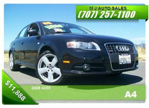 2008 Audi A4 for sale in Napa, CA