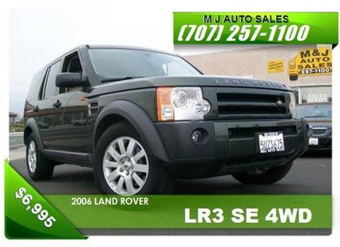 2006 Land Rover LR3 for sale in Napa, CA