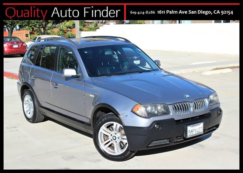 2005 BMW X3 3.0i In San Diego CA - QUALITY AUTO FINDER