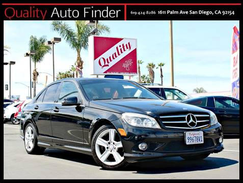 Beautiful 2010 Mercedes Benz C Class For Sale In San Diego, CA