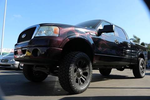 2006 Ford F-150 for sale at QUALITY AUTO FINDER in San Diego CA