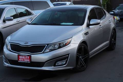 2014 Kia Optima for sale at QUALITY AUTO FINDER in San Diego CA