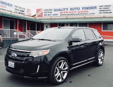 2011 Ford Edge for sale at QUALITY AUTO FINDER in San Diego CA
