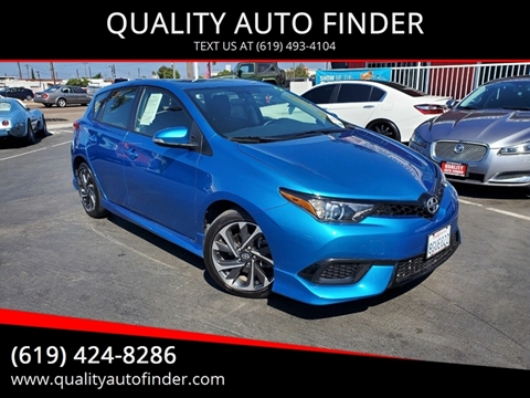 2016 Scion iM for sale in San Diego, CA