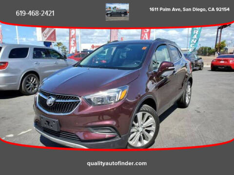 2018 Buick Encore for sale at QUALITY AUTO FINDER in San Diego CA