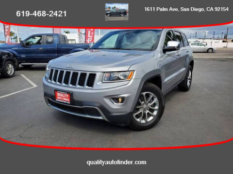 2015 Jeep Grand Cherokee for sale at QUALITY AUTO FINDER in San Diego CA