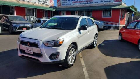 2015 Mitsubishi Outlander Sport for sale at QUALITY AUTO FINDER in San Diego CA