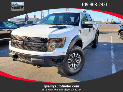 2012 Ford F-150 for sale at QUALITY AUTO FINDER in San Diego CA