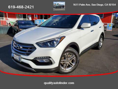 2017 Hyundai Santa Fe Sport for sale at QUALITY AUTO FINDER in San Diego CA