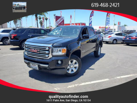 2018 GMC Canyon for sale at QUALITY AUTO FINDER in San Diego CA