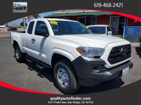 2019 Toyota Tacoma for sale at QUALITY AUTO FINDER in San Diego CA
