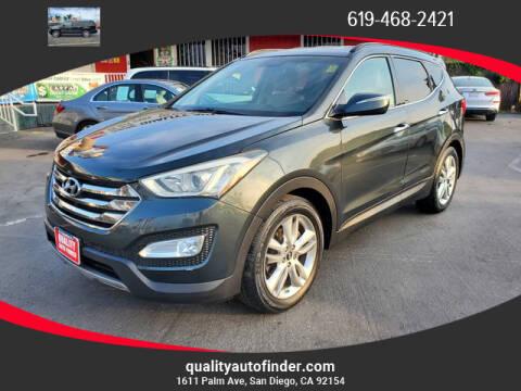 2013 Hyundai Santa Fe Sport for sale at QUALITY AUTO FINDER in San Diego CA