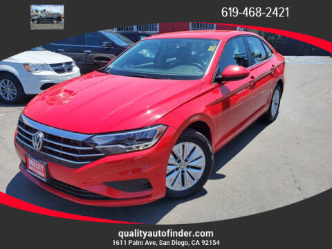 2019 Volkswagen Jetta for sale at QUALITY AUTO FINDER in San Diego CA