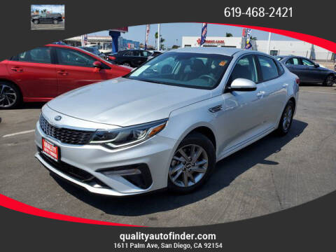 2019 Kia Optima for sale at QUALITY AUTO FINDER in San Diego CA