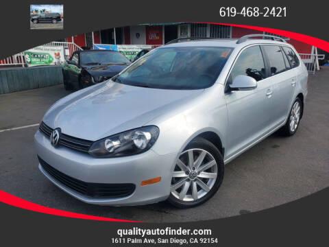 2012 Volkswagen Jetta for sale at QUALITY AUTO FINDER in San Diego CA