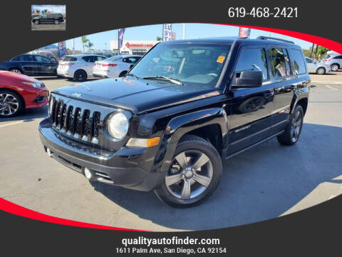 2015 Jeep Patriot for sale at QUALITY AUTO FINDER in San Diego CA