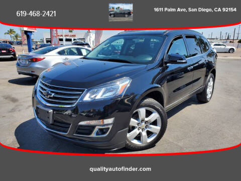 2016 Chevrolet Traverse for sale at QUALITY AUTO FINDER in San Diego CA