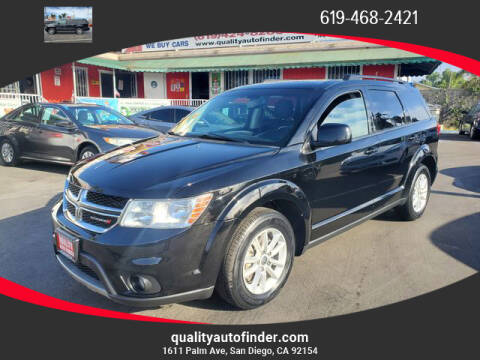 2017 Dodge Journey for sale at QUALITY AUTO FINDER in San Diego CA