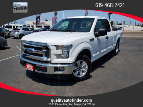 2017 Ford F-150 for sale at QUALITY AUTO FINDER in San Diego CA