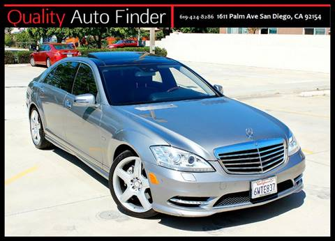 2012 Mercedes-Benz S-Class for sale in San Diego, CA