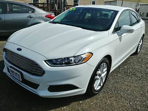 2015 Ford Fusion for sale at Deanas Auto Biz in Pendleton OR